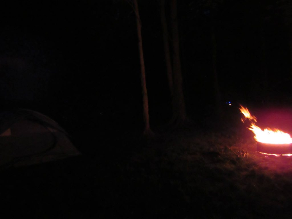campfire sparks; dave read photo