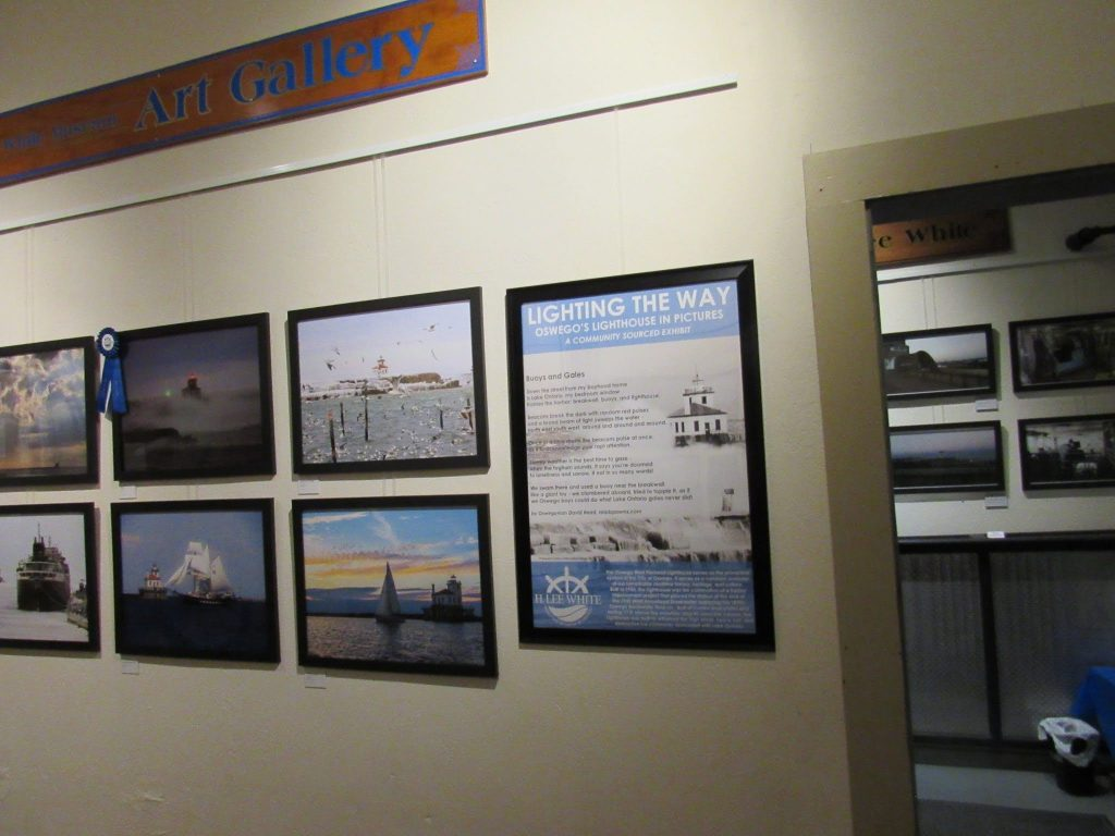 Buoys and Gales, H. Lee White Museum, Oswego, NY Summer 2021